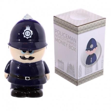 Tirelire en céramique - Policier