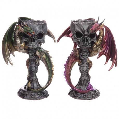 Chandelier Crâne de Dragon