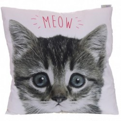 Decorative Kitten Cushion
