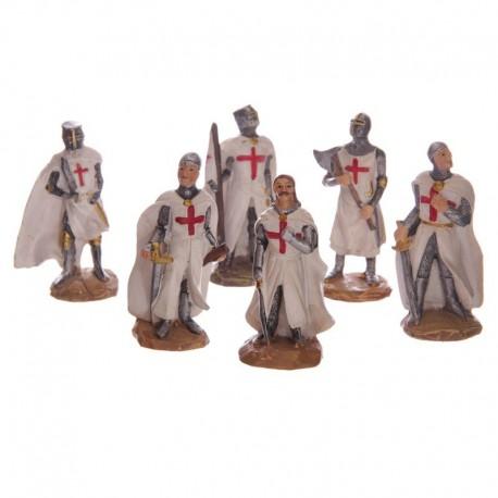 Chevalier des Croisades - 8 cm