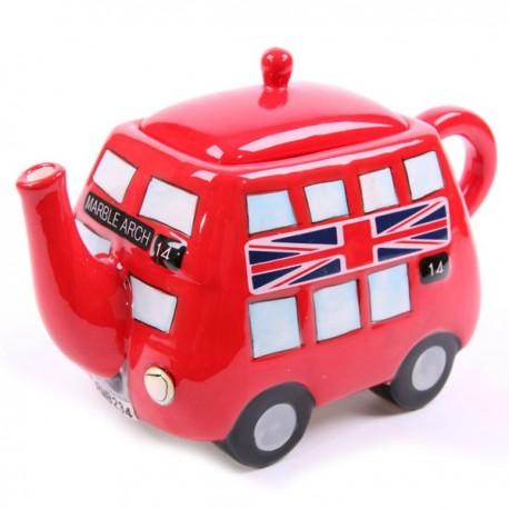 Théière Bus rouge