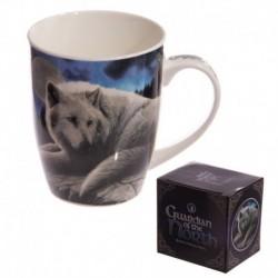 Mug en porcelaine - Loup gardien du Nord
