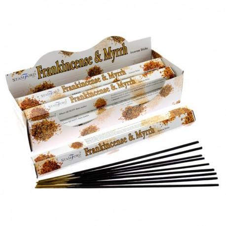 Encens Stamford Premium Hex - Franckincense & Myrrhe ~ Lot de 6 ~