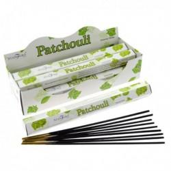 Encens Stamford Premium Hex - Patchouli ~ Lot de 6 ~