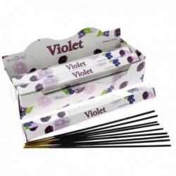 Encens Stamford Premium Hex - Violette ~ Lot de 6 ~
