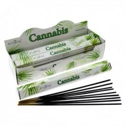 Encens Stamford Premium Hex - Cannabis ~ Lot de 6 ~