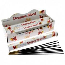 Encens Stamford Premium Hex - Sang de Dragon ~ Lot de 6 ~