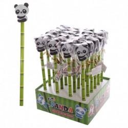 Crayon à papier avec embout gomme - Design panda