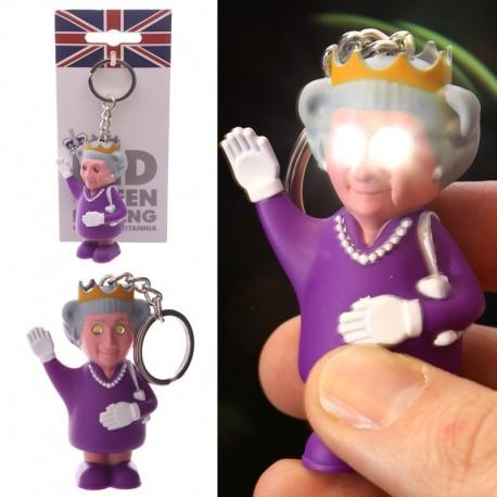 Porte-clés lumière et son - Reine par Ted Smith