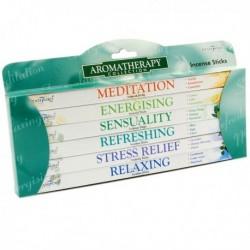 Pack de 6 paquets d'encens Stamford, Aromathérapie
