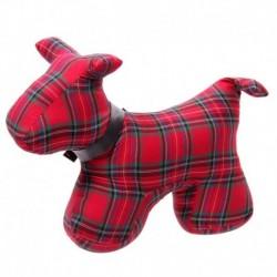 Cale-porte - Chien écossais design tartan