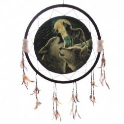 Attrape-rêves Le Chant du Loup par Lisa Parker 60cm