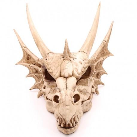 Grand ornement mural - Crâne de dragon