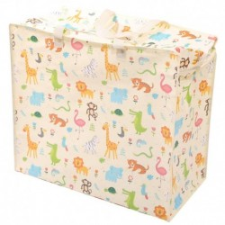 Panier à linge ou sac de rangement Design Animaux du zoo