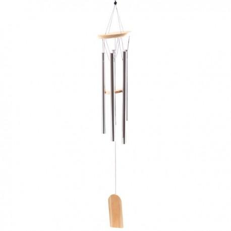 Carillon à vent, tubes métalliques, 88cm