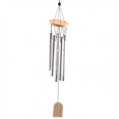 Carillon à vent, tubes métalliques, 37cm