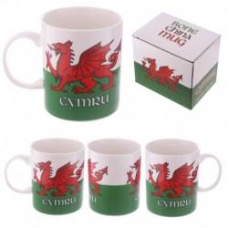 Mug en porcelaine tendre - Pays de Galles