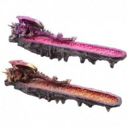 Porte-encens dragon et géode