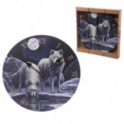 Horloge Les guerriers de l'hiver par Lisa Parker