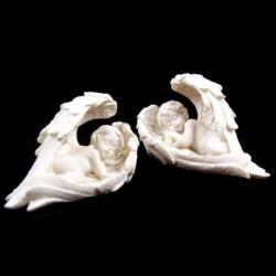 Figurine Chérubins dormants, Grandes ailes