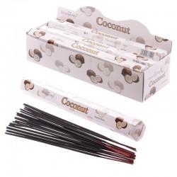 Bâtonnets Encens Stamford Premium Hex - Noix De Coco 37140 ~ Lot de 6 ~