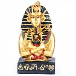 Buste Pharaon Toutankhamon avec Fléau et Crosse