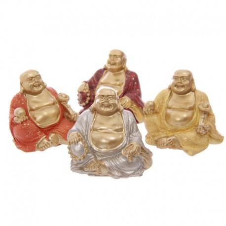Mini Bouddha Porte-bonheur à collectionner - Effet Pailleté