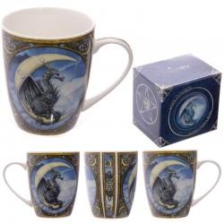 Mug en porcelaine - Dessin Dragon