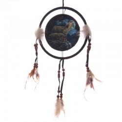 Attrape-rêves Couple de Loups - 16cm