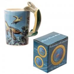 Mug décor marin - Anse tortue