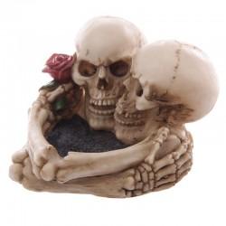 Cendrier - Crânes amoureux