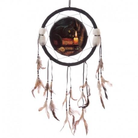 Attrape-rêve par Lisa Parker - 33 cm - Chat