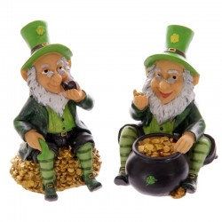 Tirelire lutin chanceux leprechaun