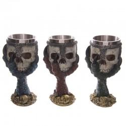Coupe Gothique - Crâne dans une griffe