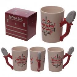 Mug avec anse pince - Design Ouvrier au travail
