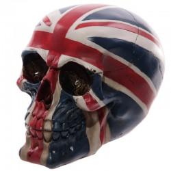Crâne macabre - Drapeau Grande-Bretagne