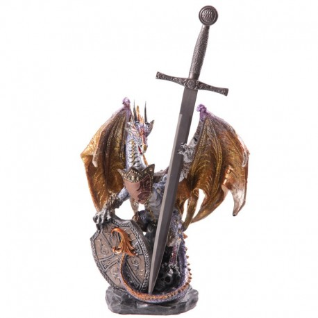Dragon gardien du feu - Collection Dark Legends