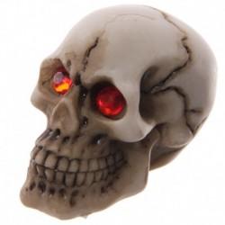 Crâne macabre - Yeux rouges