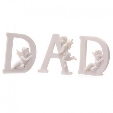 Chérubins Blancs D A D - Lot de 3 lettres