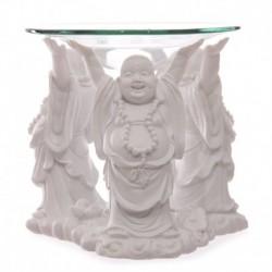 Bruleur à huile Bouddha blanc - Coupelle 11 cm