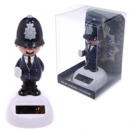 Figurine solaire - Policier anglais
